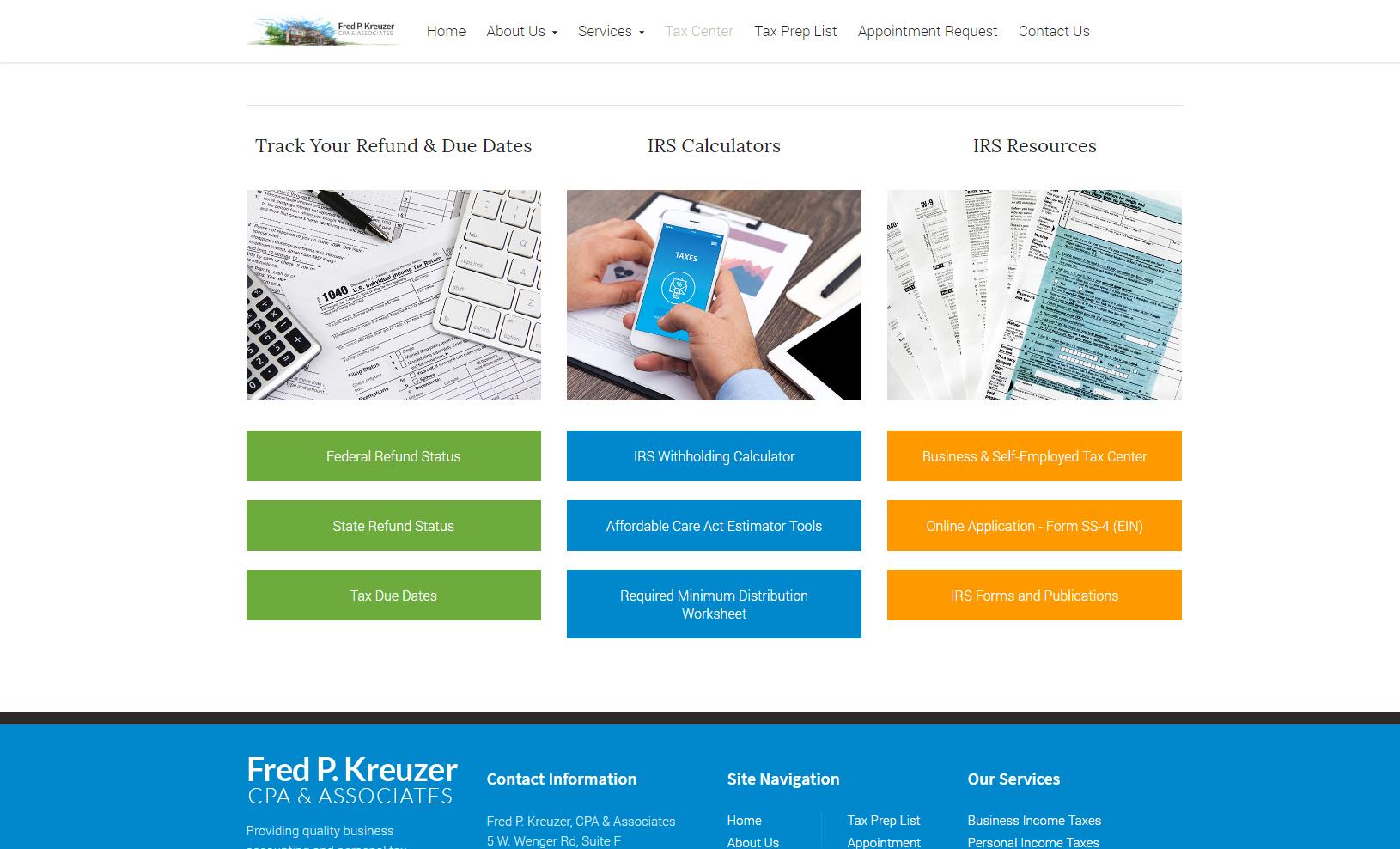 Cpa Website Design Reviews