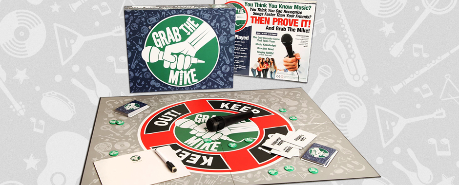 Board Game Design - Grab The Mike